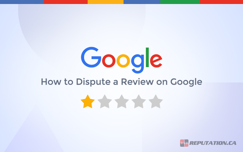 Disputing Review on Google