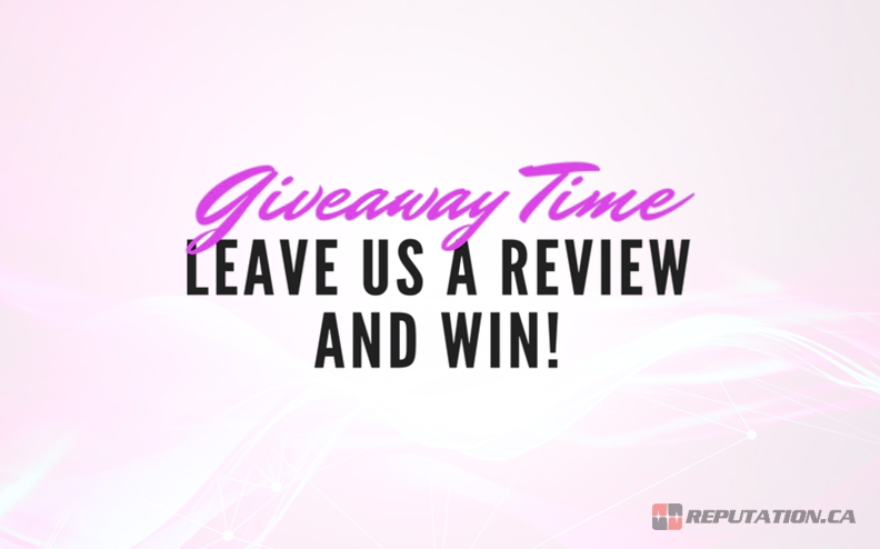Example Giveaway Contest Review