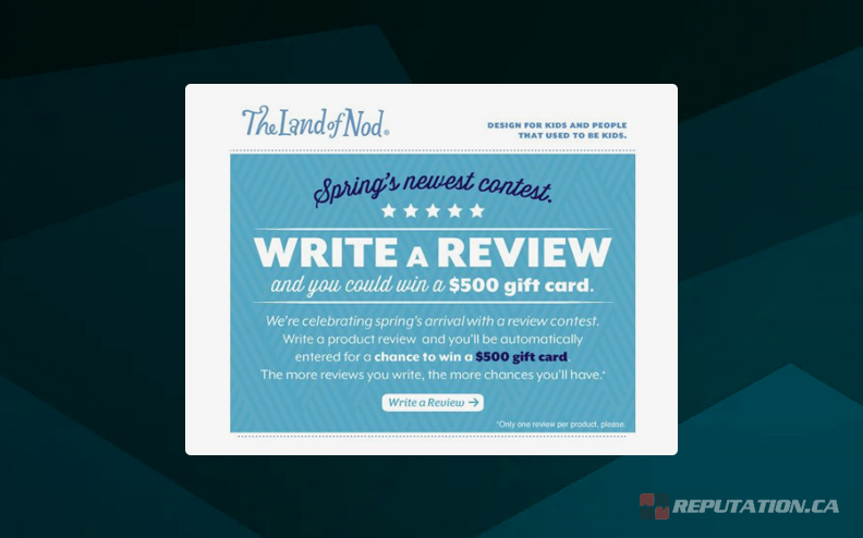 Example Soliciting a Review Newsletter