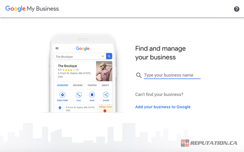 Google My Business Submit
