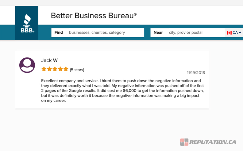 One Review on BBB