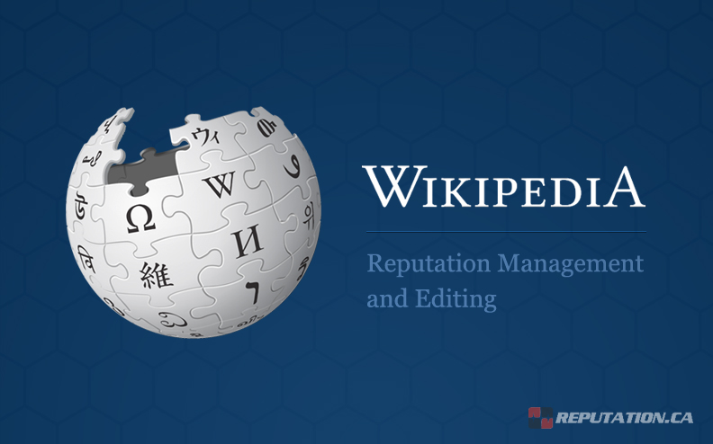 Wikipedia Reputation Management