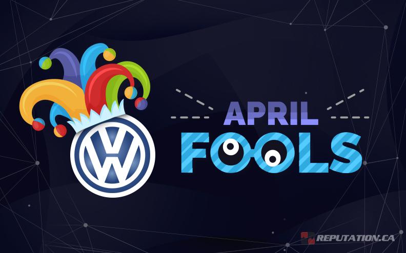 April Fools VW