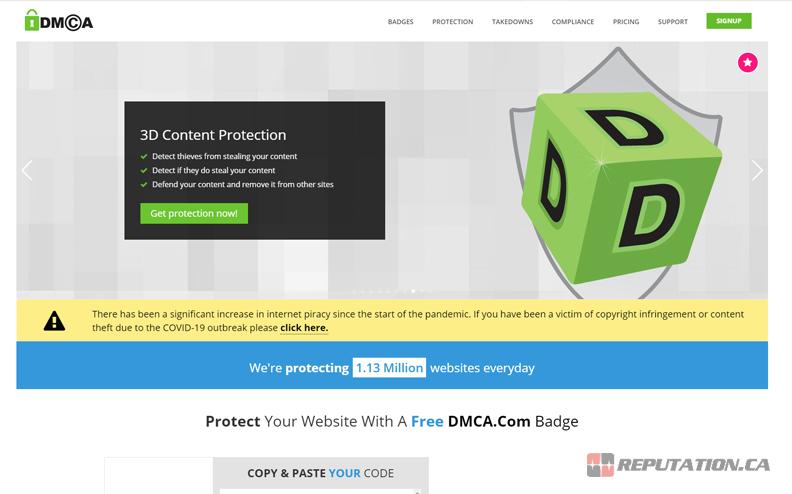 DMCA Website