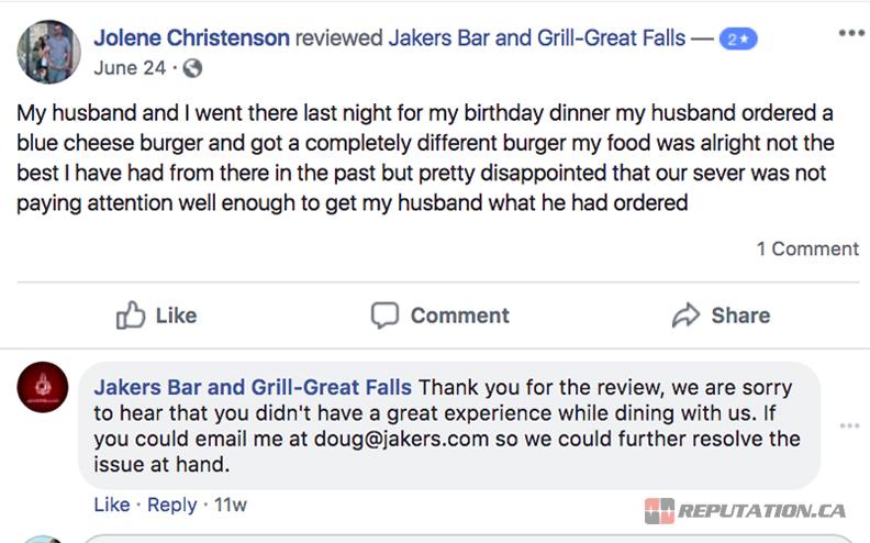 Good Review Response