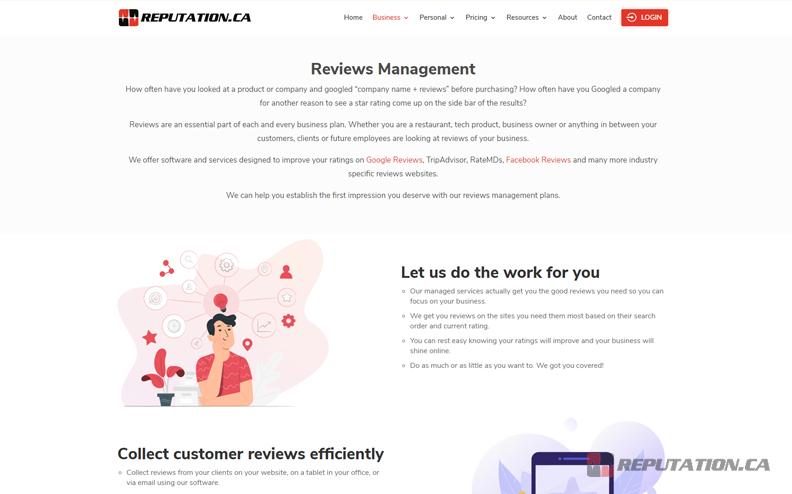 Reputation Reviews Management