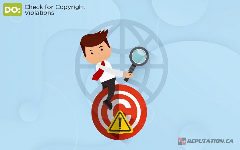 Checking Copyright Violations