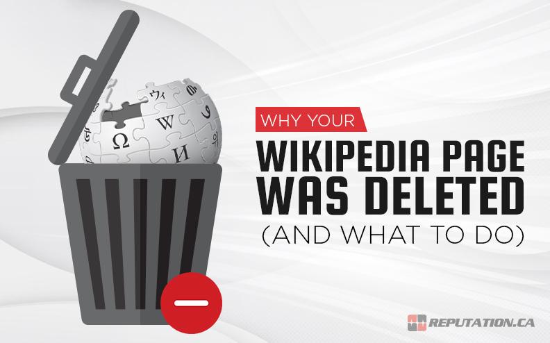 Trashed Wikipedia Page