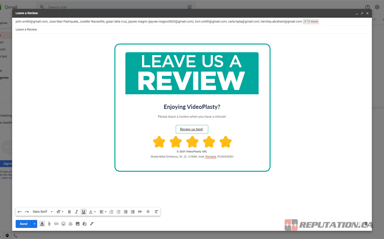 Asking for Review