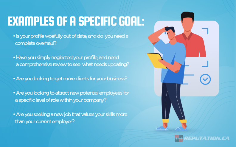 Examples Specific Goal