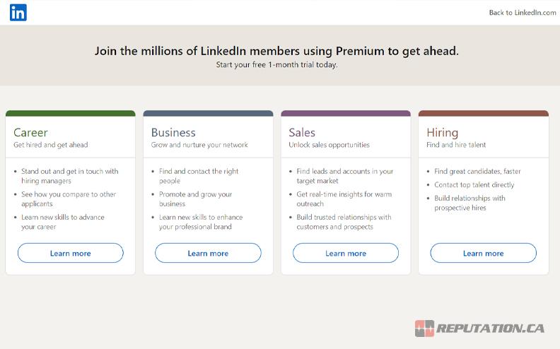 LinkedIn Premium Upgrade