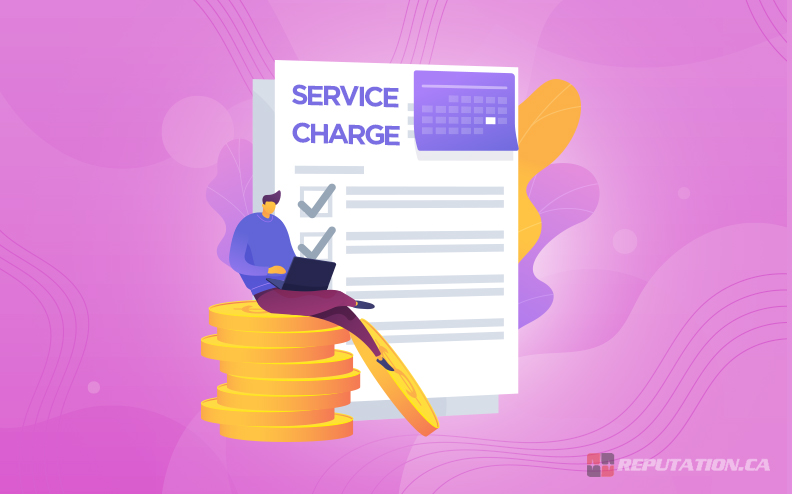 Writer Service Charge
