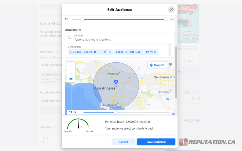 Geofencing Advertisement Campaign