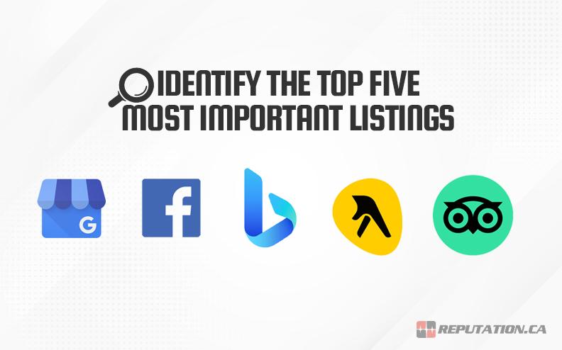 Identify Top Five