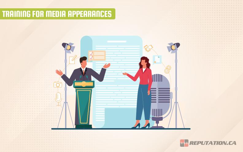 Training Media Appearances