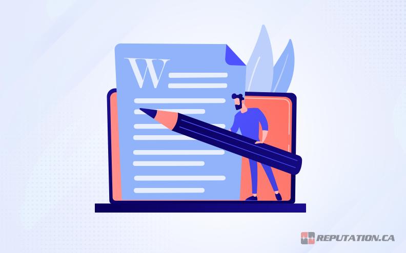 Editing Wikipedia Page