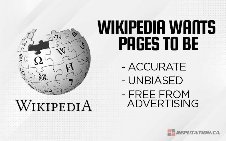 Wikipedia Page Wants